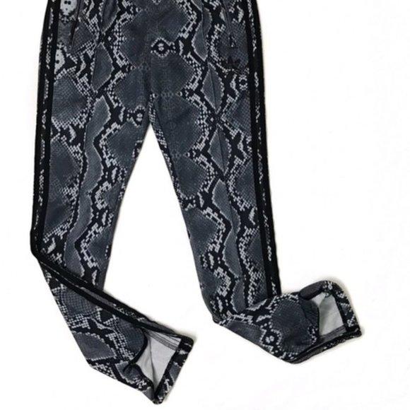 Adidas Snake Print Slim Track Pants